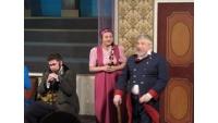 На спектакле в театре «Ровесник»