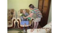 Поздравление со 100-летним юбилеем.
