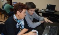 Обучение компьютерной грамотности в ОБУСО «ЦСО «Участие» г. Курска»