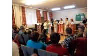 Пенсионеры ОБУСО «ЦСО «Участие» города Курска»  в салоне «Стиль»