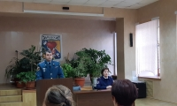Лекция по пожарной безопасности лиц «группы риска»
